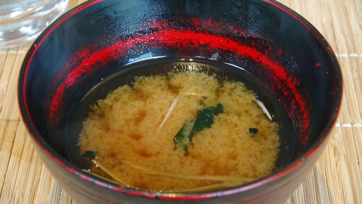 Soupe miso, avec un vrai dashi maison