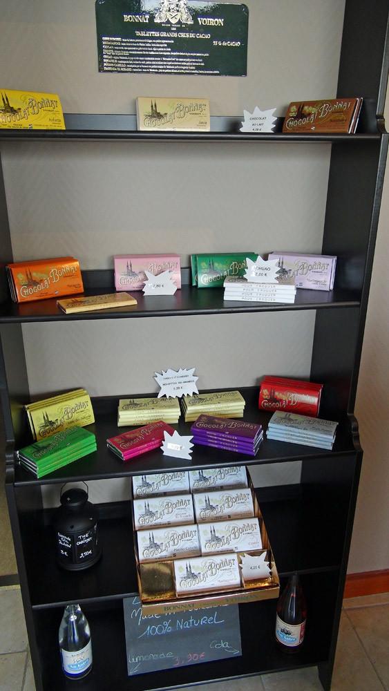 Les chocolats de la maison Bonnat