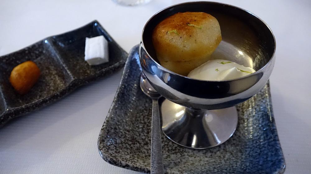 """Baba crème légère à la vanille et rhum El Pasador de Oro """"Gran Reserva"""" du Guatemala - Guimauve amande amère"""