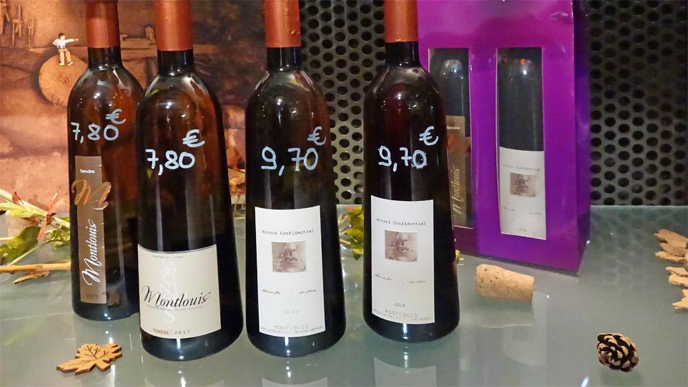 Les vins Tranquilles