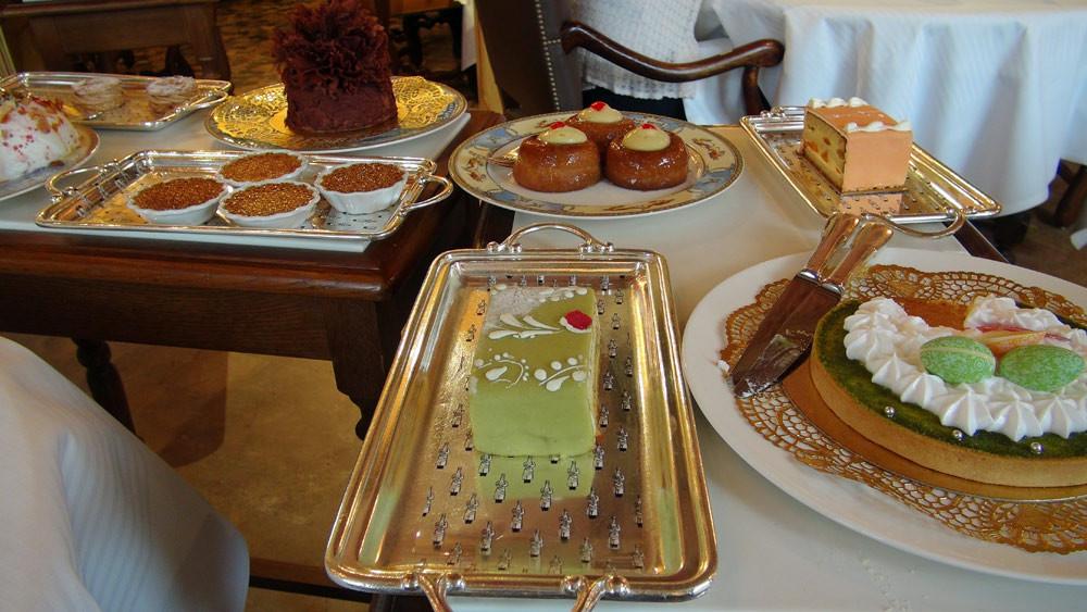 Les desserts ...
