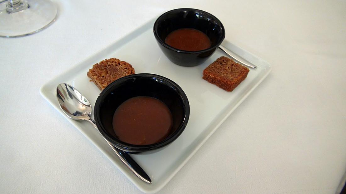 Petit gâteau à la cannelle et Caramel au beurre salé