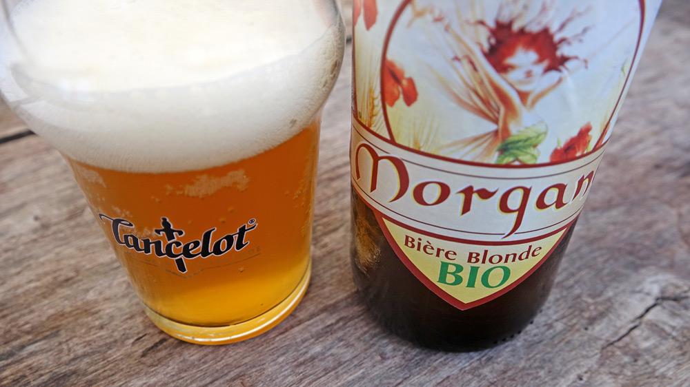 """Bière blonde bio """"La Morgane"""" de chez Lancelot"""