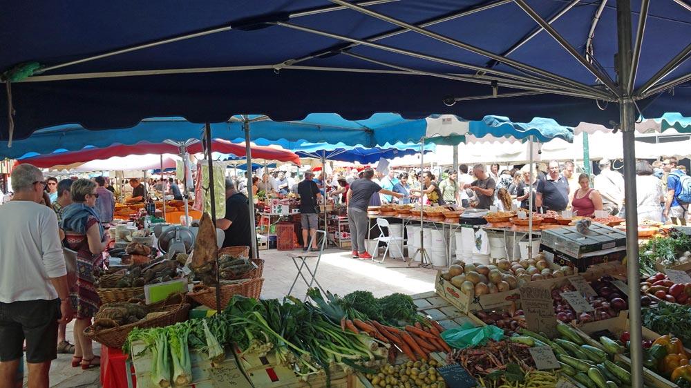 Marché d'Ajaccio - 9 juin 2016