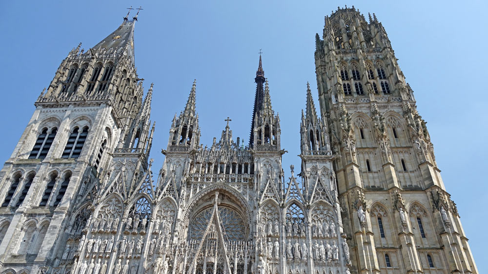 La Cathédrale, partie haute
