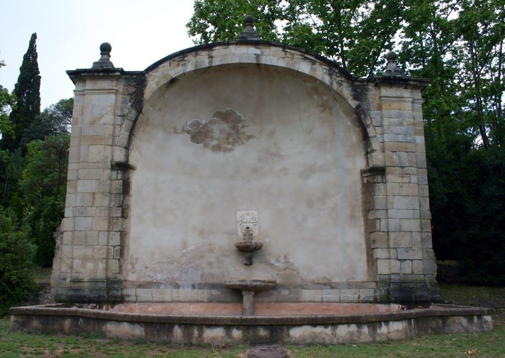 Le grand réservoir d'eau