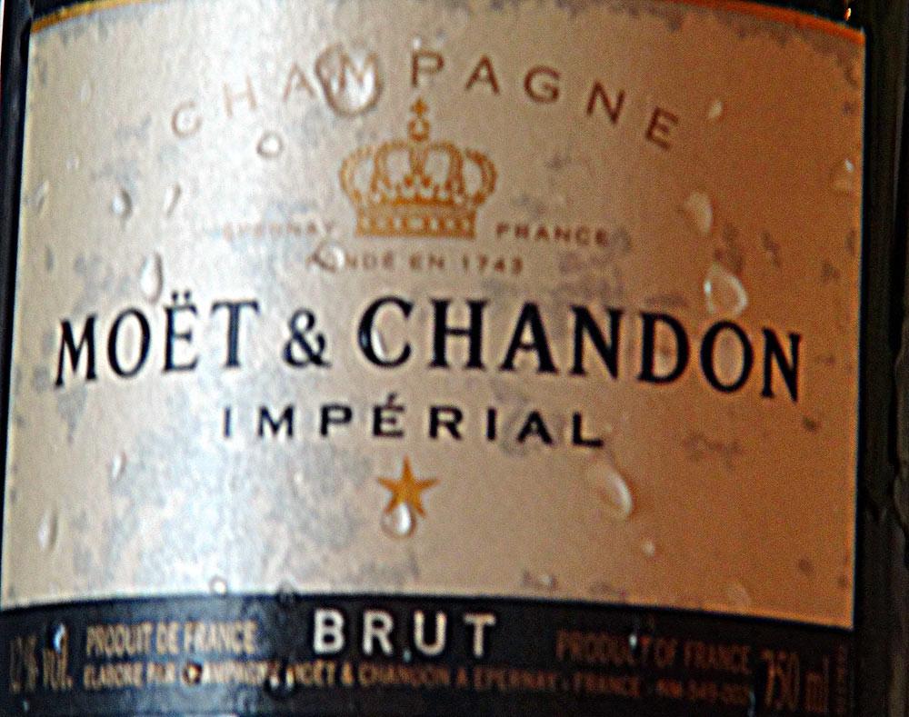 Champagne pour l'apéritif