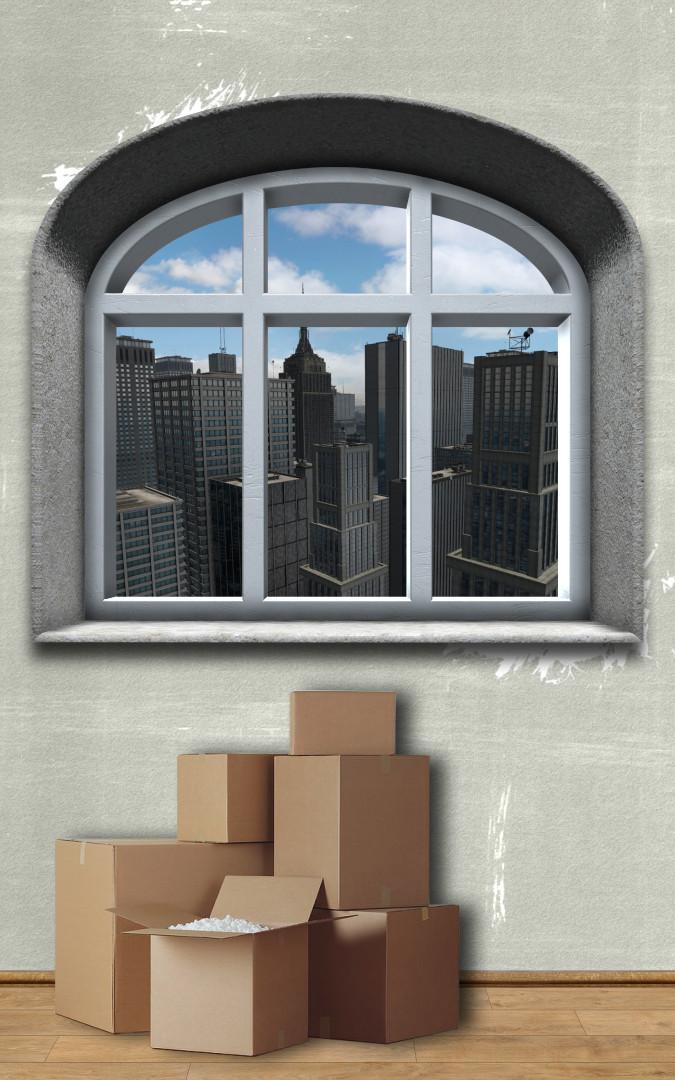 Sally's Apartment - beim Einzug (animiert)