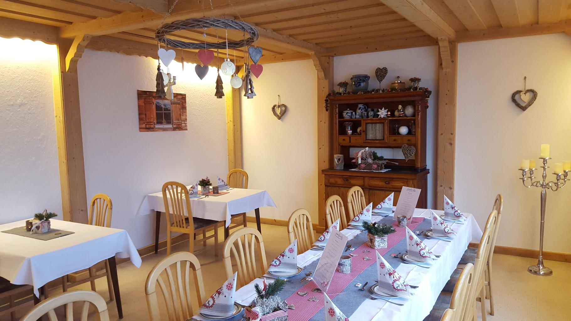 gemütliches Bauernzimmer/Frühstücksraum