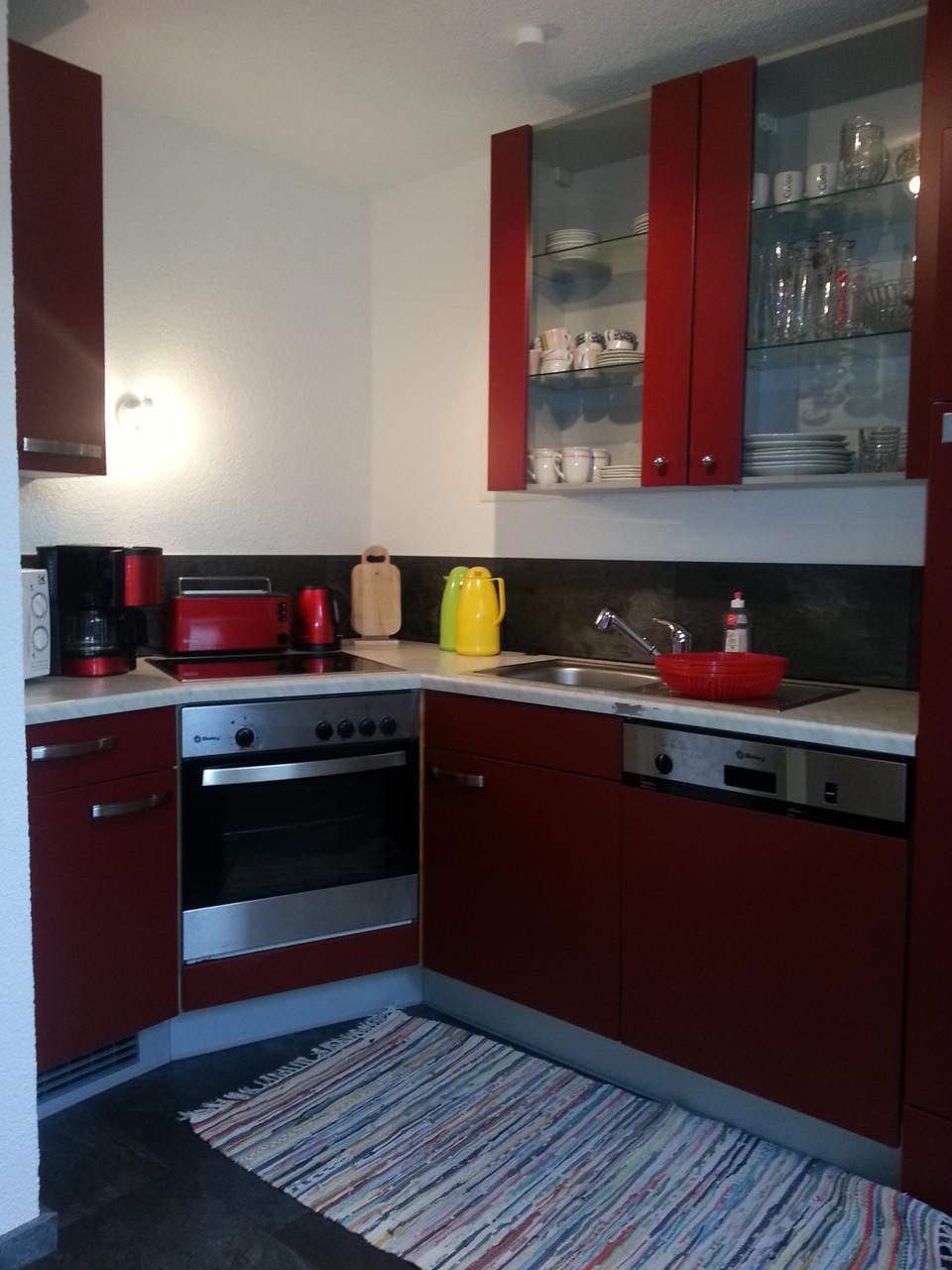 Voll ausgestattete Küche für unsere Hausgäste