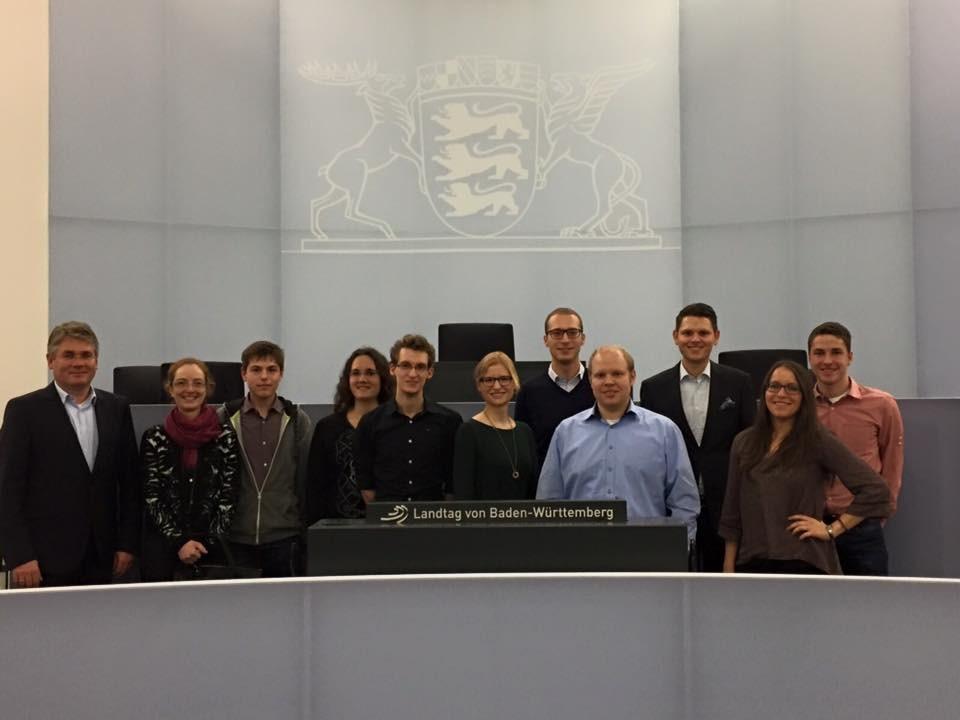 Besichtigung des Landtags 2015