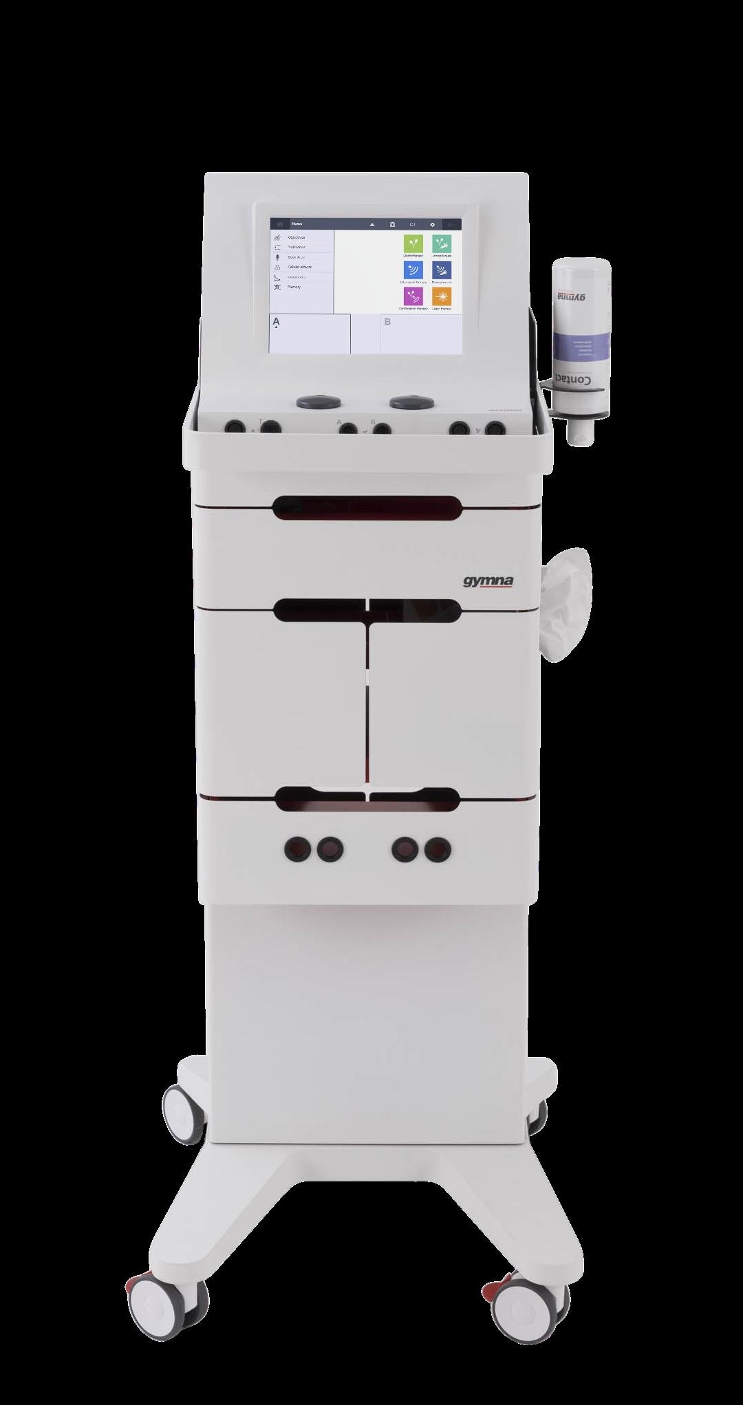 Gymna Mobile 400 - Frontansicht - Gerätewagen für alle Geräte der 400er Serie