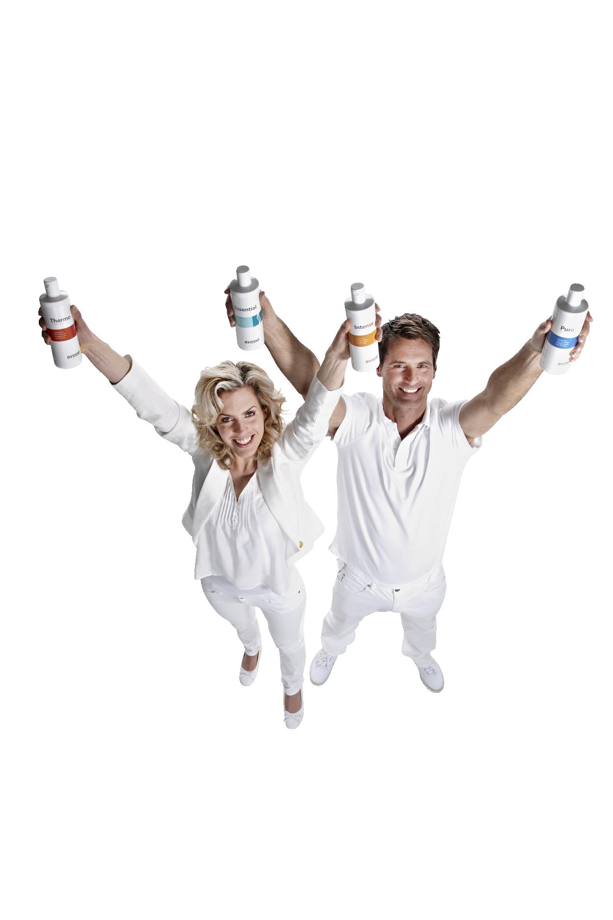 Gymna präsentiert Ihnen ausgewählte Massagelotionen für jeden Bereich Ihrer täglichen Arbeit