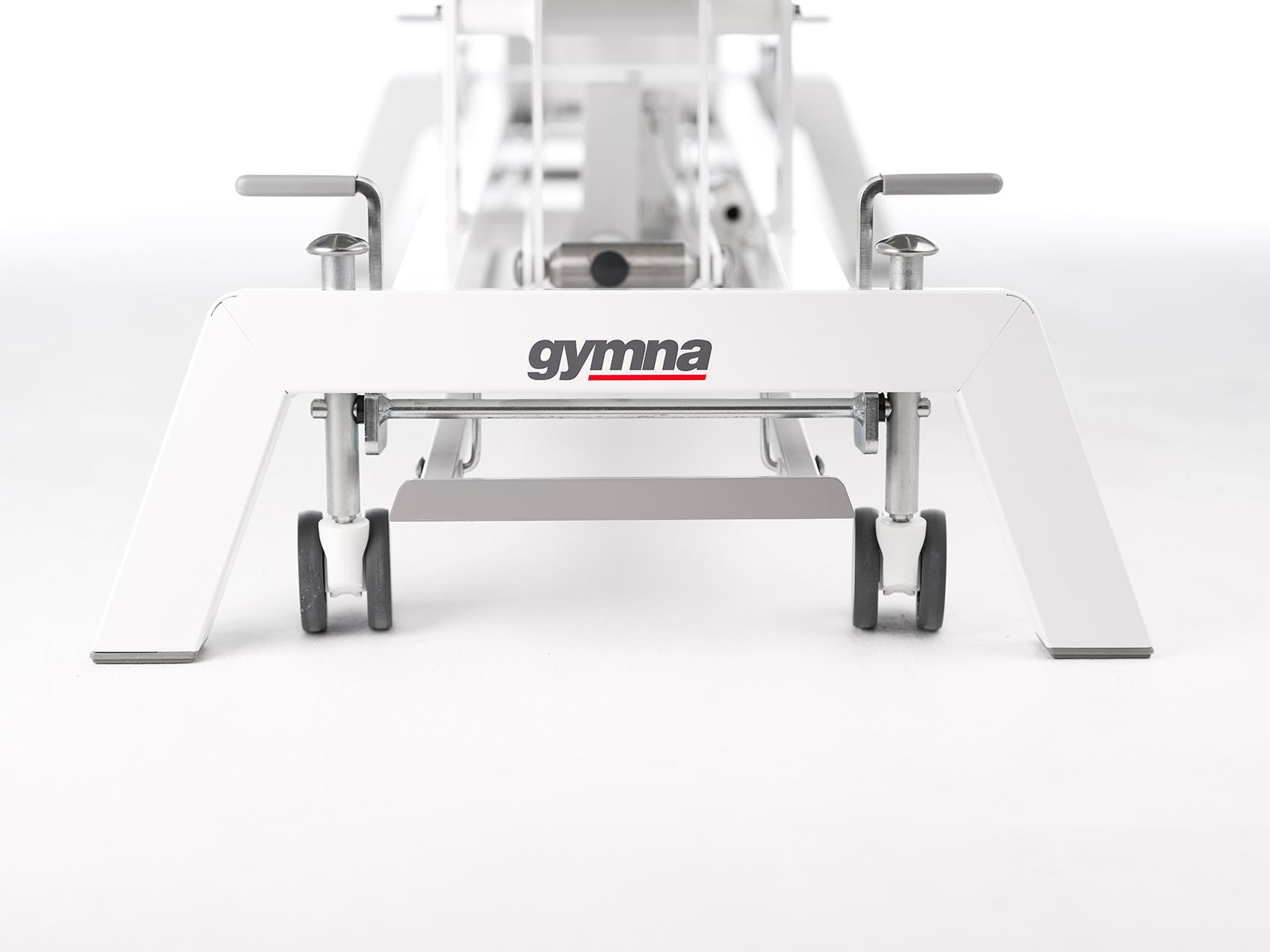 Das Untergestell der neuen gymna.GO Serie - schmal und dennoch stabil
