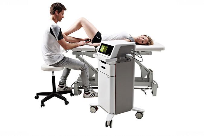 Gymna ShockMaster: Das Gerät für die Stosswellentherapie