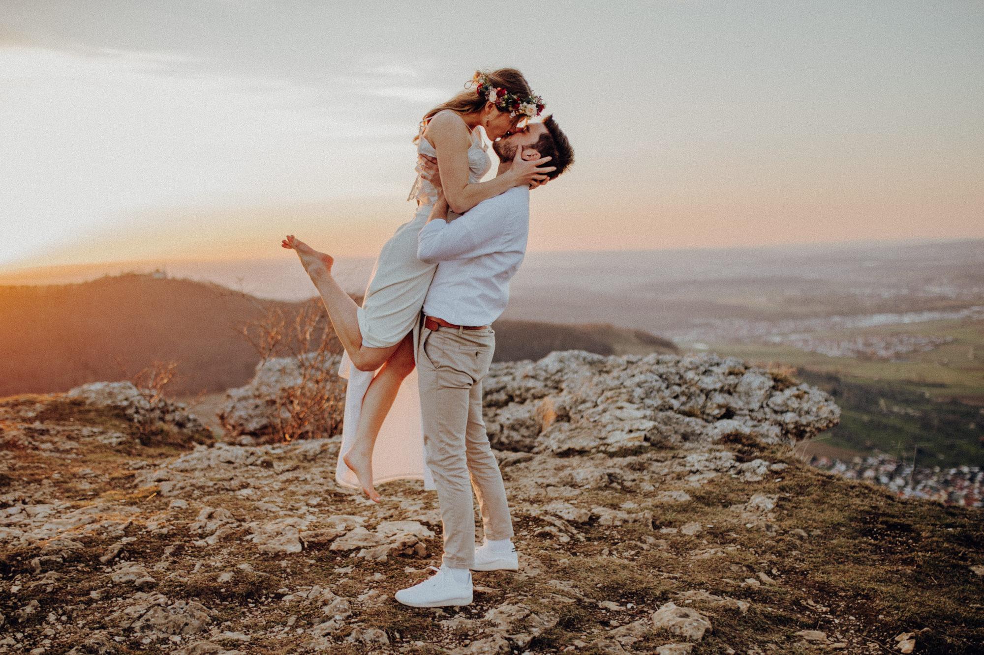 Brautpaarshooting auf dem Breitenstein
