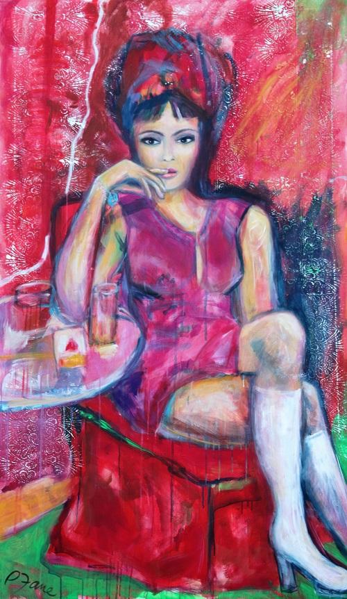 Lonely heart, 170 x 100, Acryl auf Leinwand