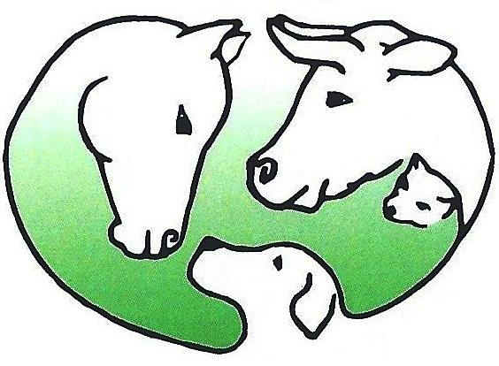 Tierarzt Logo Hund Katze Pferd Kuh Notdienst Bereitschaftsdienst