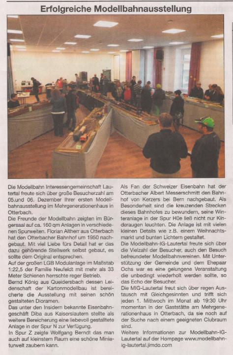 """Quelle: """"Stadt- und Land-Kurier"""" Ausgabe 51/2015 vom 17. Dezember 2015"""