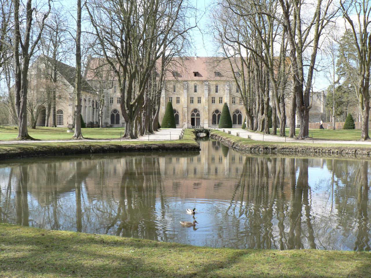 L'Abbaye de Royaumont, un cadre idyllique pour la contemplation...