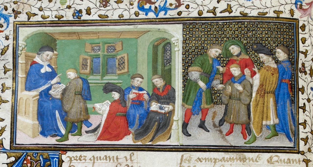 L Ecole Au Moyen Age Maison Des Templiers