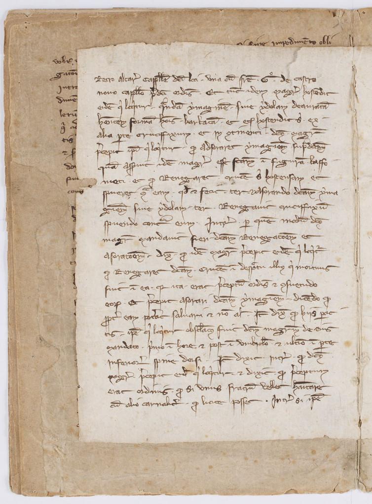Cahier du procès-verbal des interrogatoires des Templiers de Carcassonne. page 4