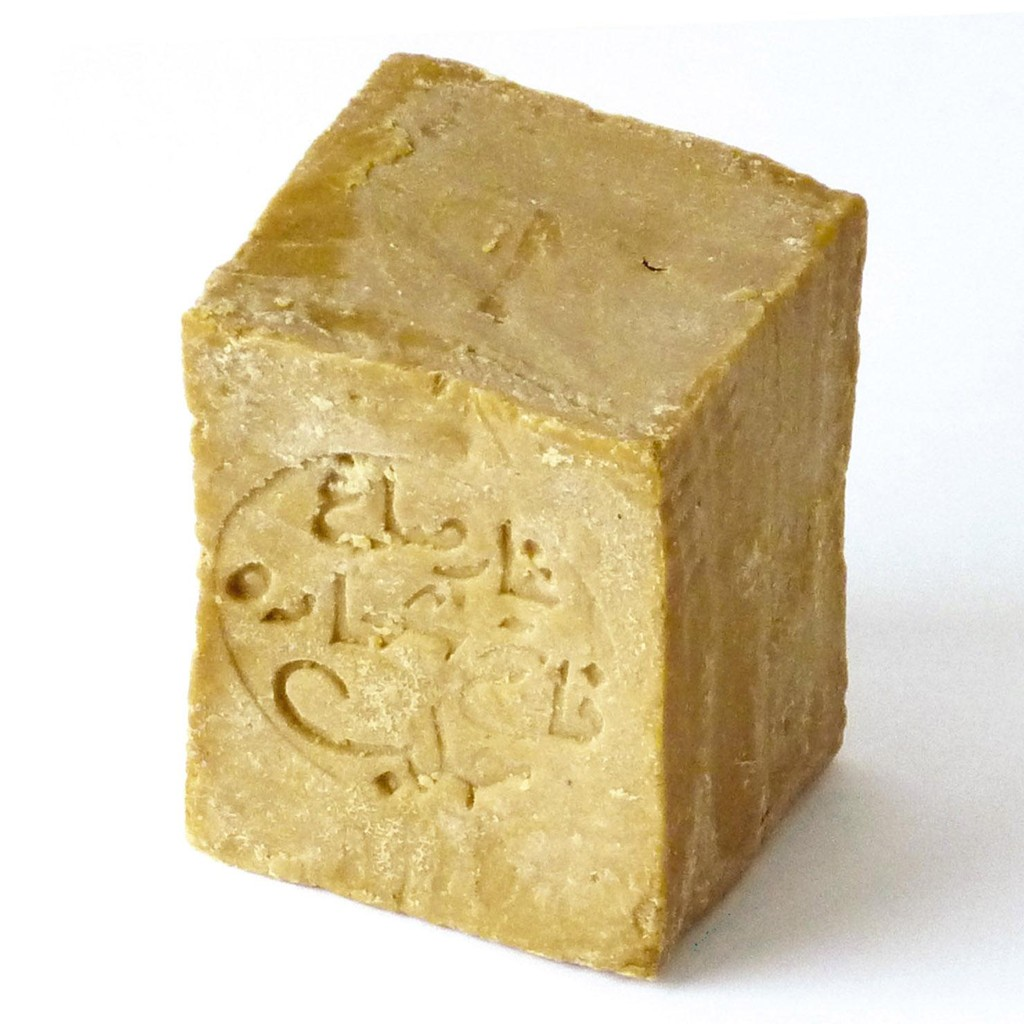 Un pain de savon d'Alep.