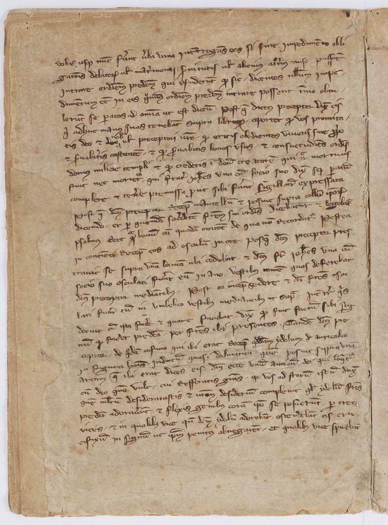 Cahier du procès-verbal des interrogatoires des Templiers de Carcassonne. page 2