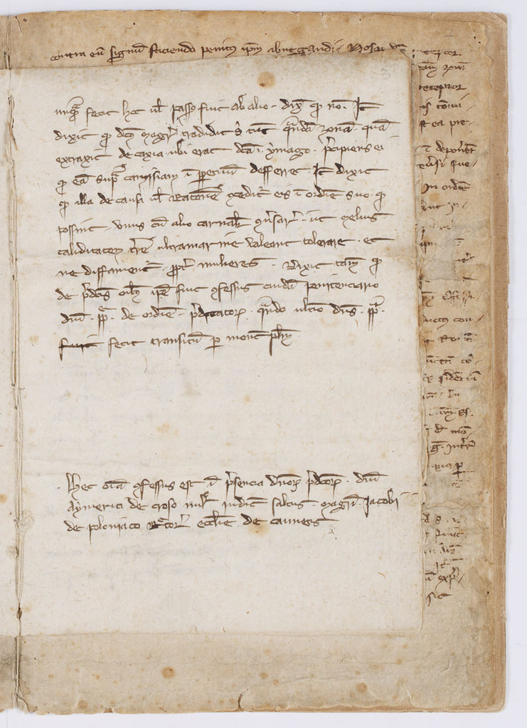 Cahier du procès-verbal des interrogatoires des Templiers de Carcassonne. page 5