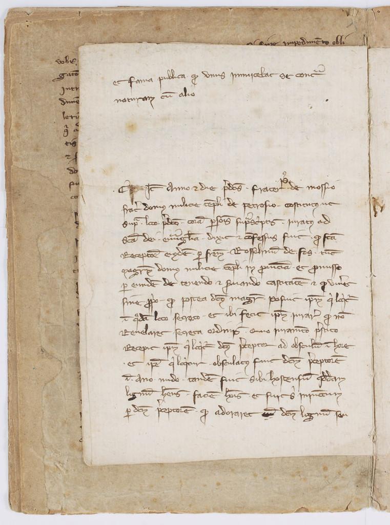 Cahier du procès-verbal des interrogatoires des Templiers de Carcassonne. page 10