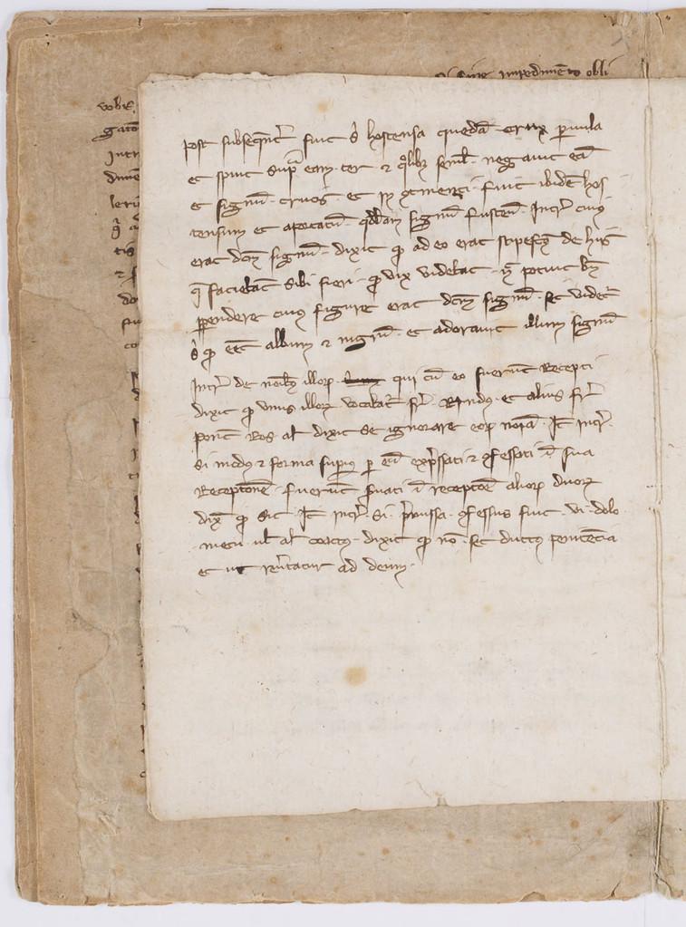 Cahier du procès-verbal des interrogatoires des Templiers de Carcassonne. page 8