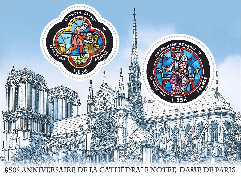 Bloc deux timbres