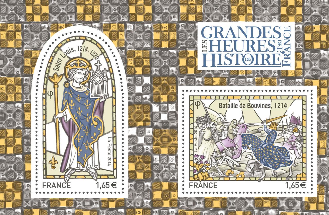 les grandes heures de l histoire de france saint louis 1214 1270 et la bataille de bouvines. Black Bedroom Furniture Sets. Home Design Ideas