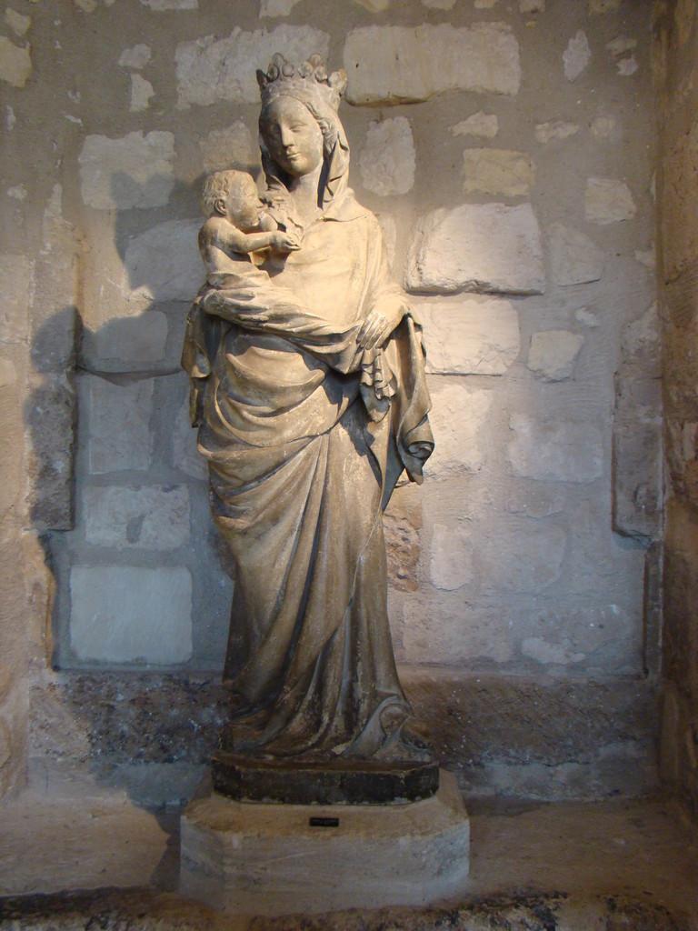 Vierge de Royaumont. XIVe siècle