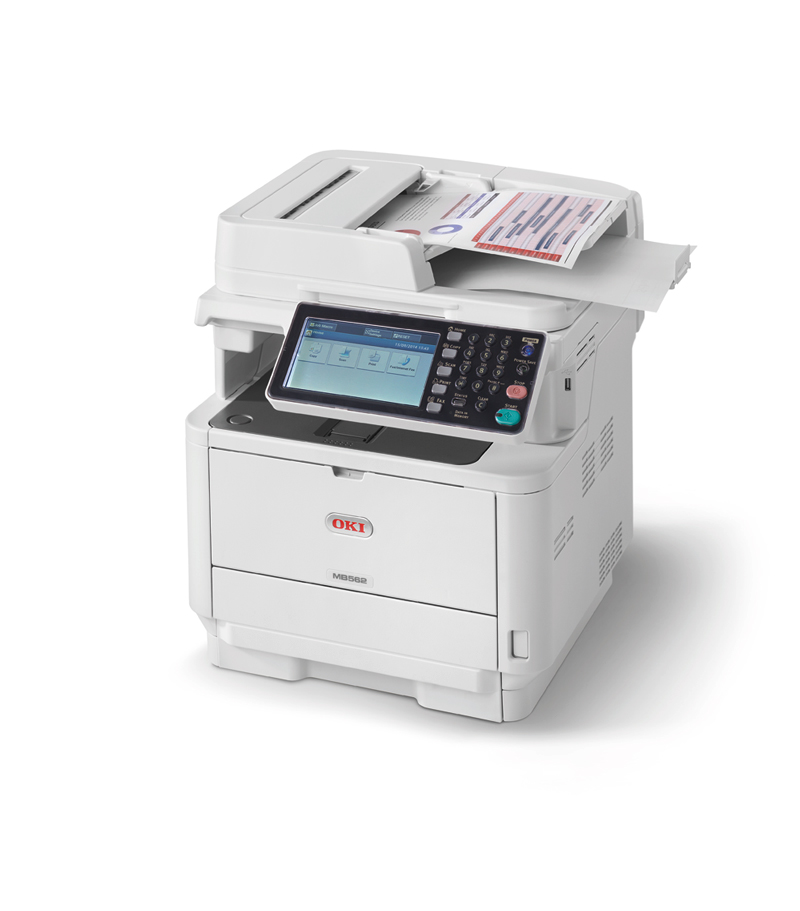 OKI A4-Multifunktionsdrucker - LED-Technologie