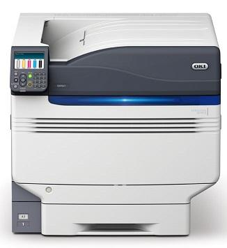 OKI PRO9542 - 5-Farbdrucker - Weiß-Druck auf dunklen Medien