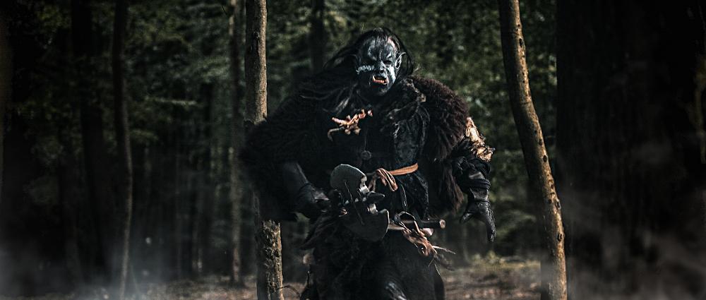 Bedrohung im Wald