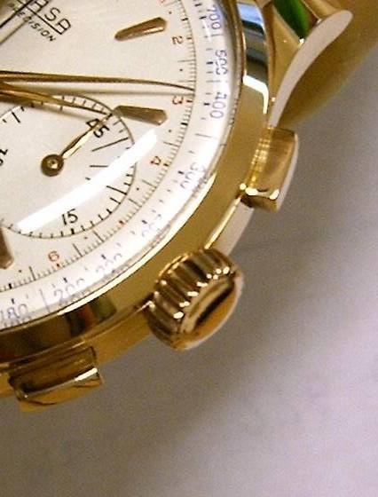 Corona artigianale su misura in oro 18