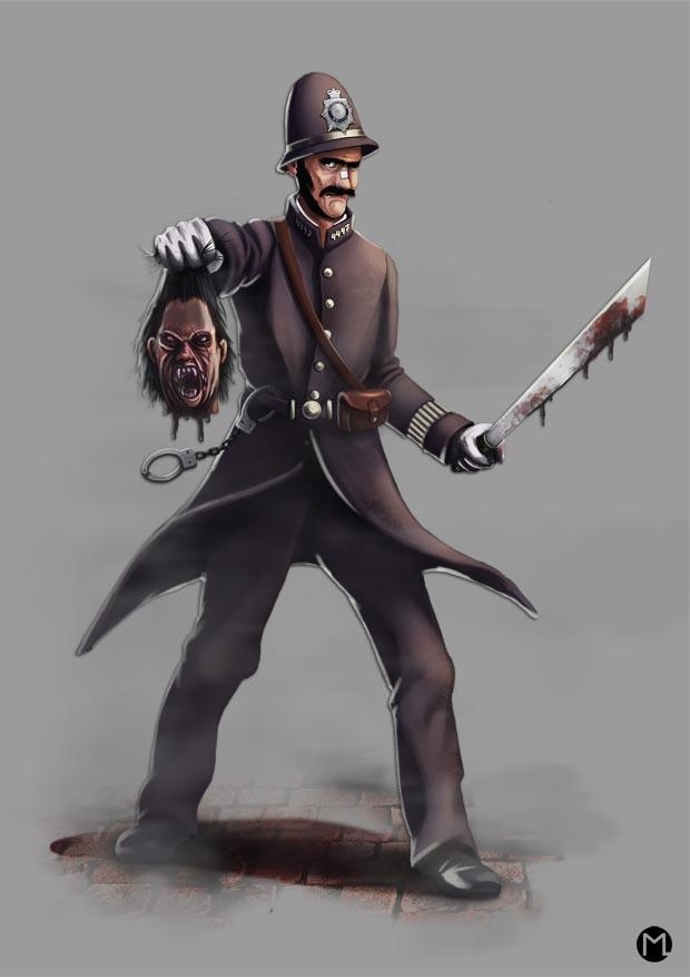 British Policeman - Britischer Polizist