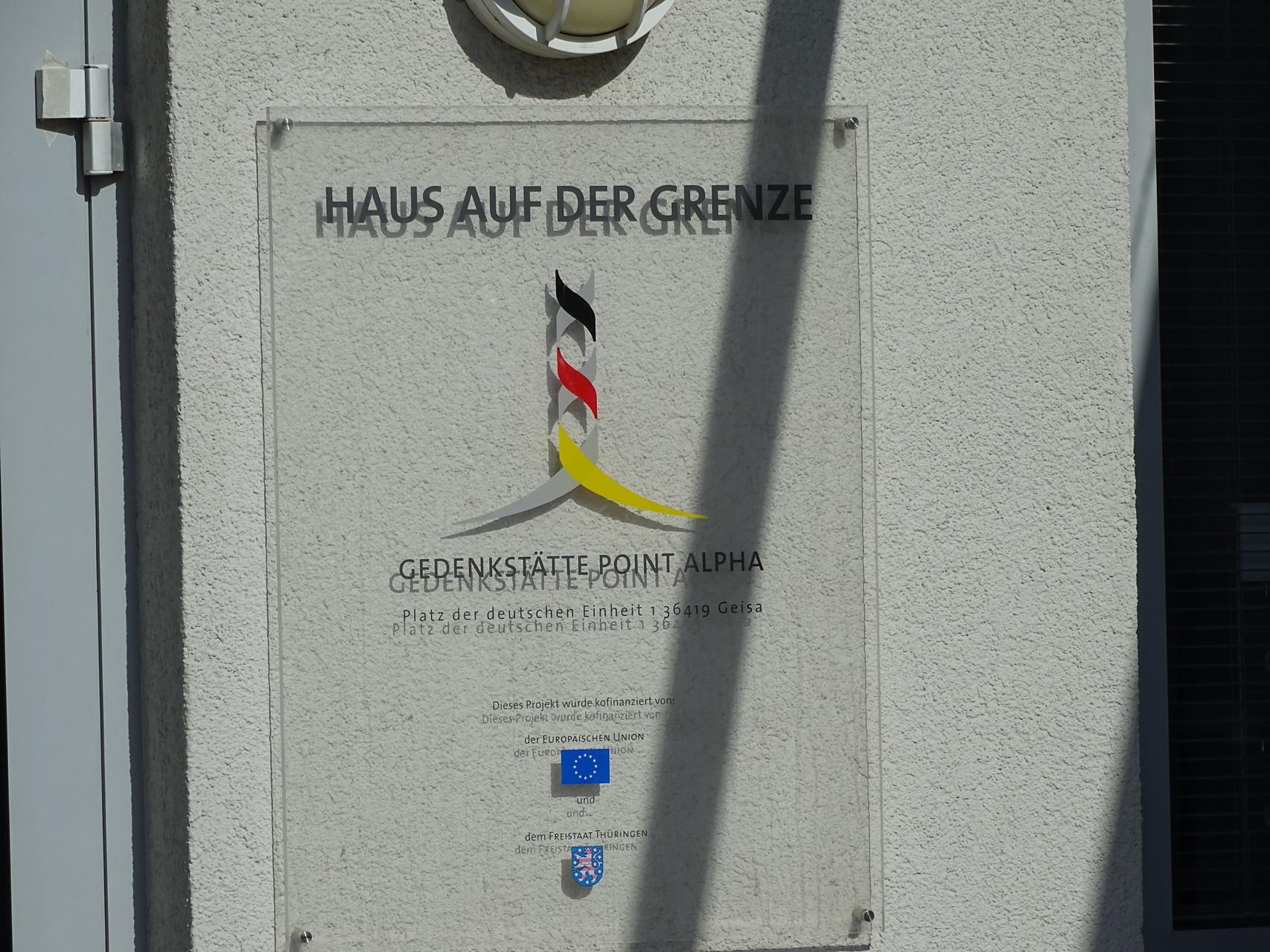 """Beeindruckend: Das Museum """"Haus auf der Grenze"""" // Foto: Hotop"""