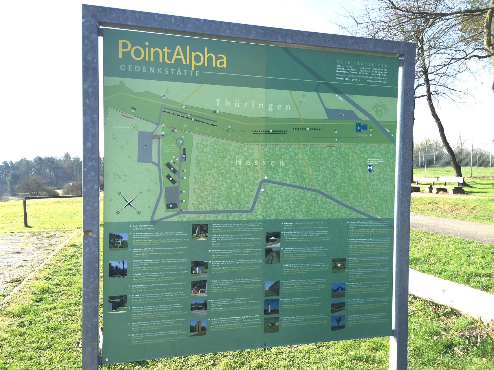 Beeindruckend: Besichtigung von Point Alpha. // Foto: Gömmer