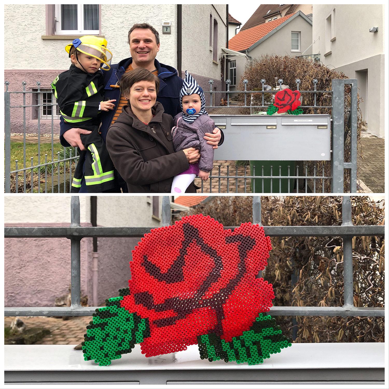 Nicole, David & Kids, Stuttgart