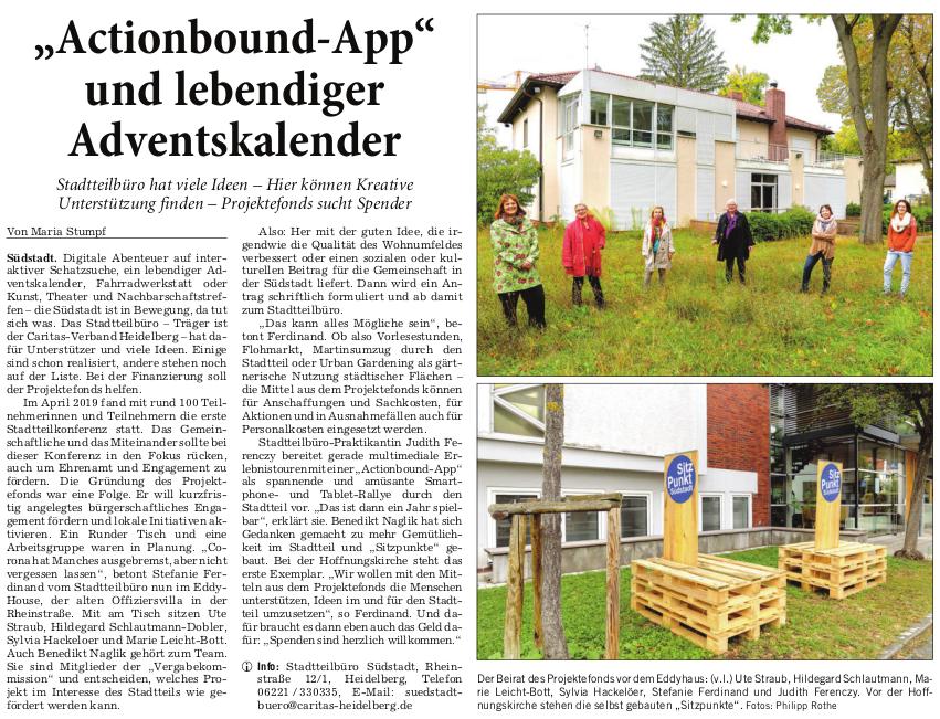 Rhein-Neckar-Zeitung 20.10.2020