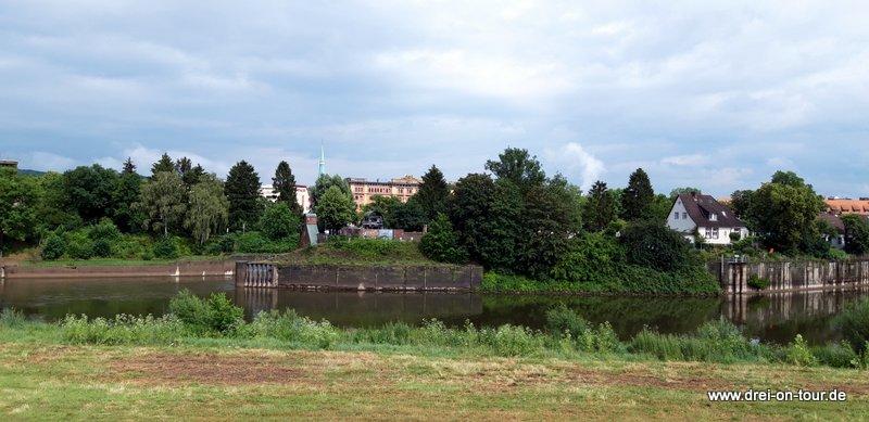 und der schöne Blick auf die Weser