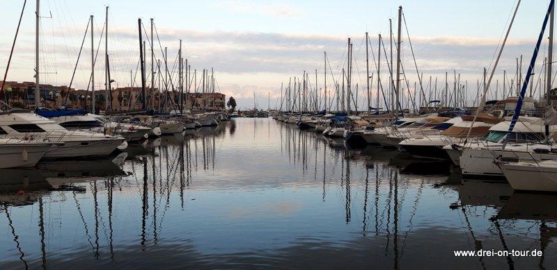 Yachthafen in Argeles-sur-mer