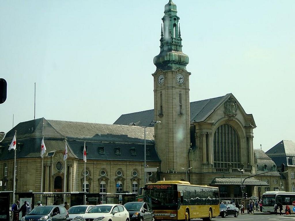 Luxembourg-Ville - La gare de Luxembourg
