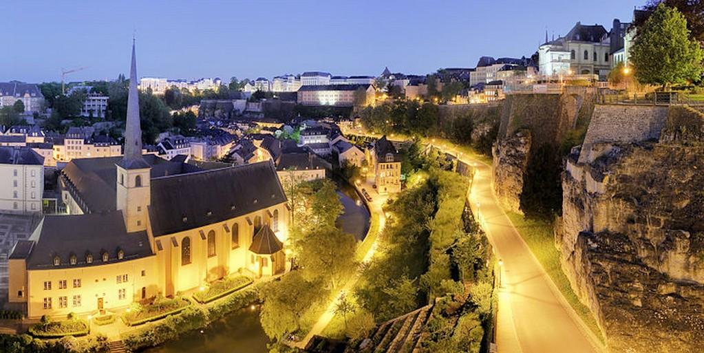 Luxembourg-Ville - Vue sur la vieille ville et ses casemates