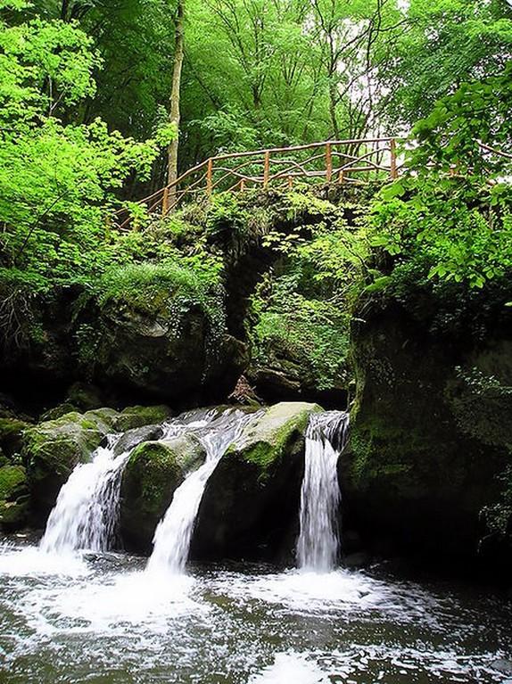 Luxembourg - Mullerthal -  Cascade du Schiessentümpel