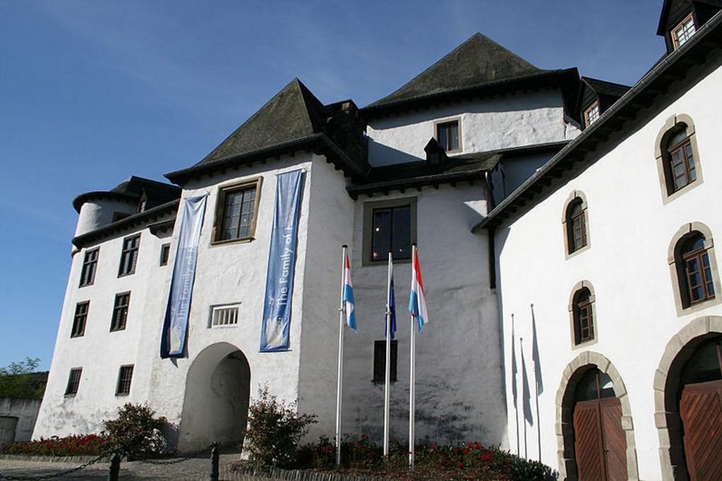 Clervaux - L'entrée du château