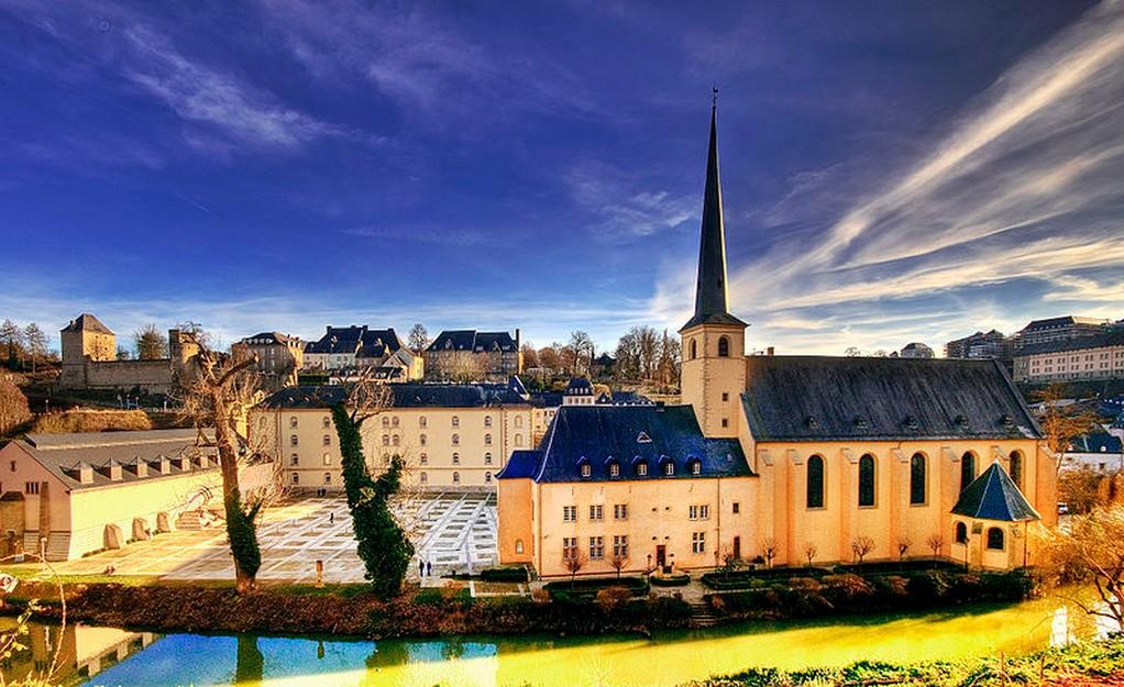 Luxembourg-Ville - L'abbaye de Neumünster